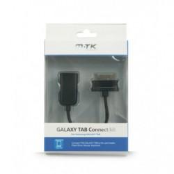 Cabo Dados Coneccao Samsung Galaxy Tab / Usb Preto M.TK - 8435350715700