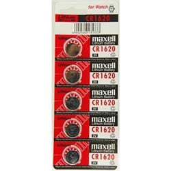 Pilha Relogio Maxell 3V Lithium CR1620 - 4902580131333