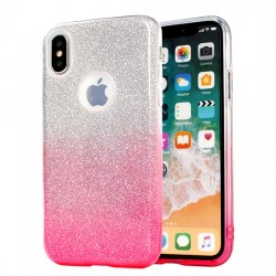 Tampa Traseira Bling Samsung S8 Plus G955 Rosa - 5900217227984