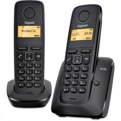 Telefone Sem Fios Gigaset A120 Duos Preto - 4250366826431