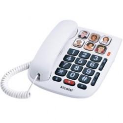 Telefone C Fios Alcatel TMax 10 Branco - 3700601416459