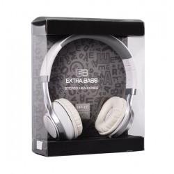Auscultador Estudio Stereo EB Branco C Microfone Jack 3.5mm - 5900217157229