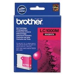 TINTEIRO BROTHER LC1000 MAGENTA BROLC1000M - 4977766643931