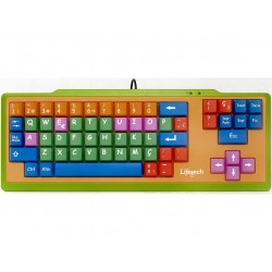 Teclado Lifetech Usb Kids Color