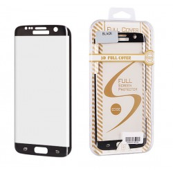 Pelicula Vidro Temp Sam. Galaxy S6 Edge G925 Curva Preta - 5992