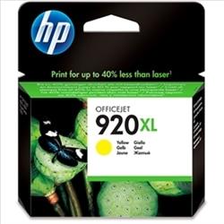 TINTEIRO HP N. 920XL AMARELO HPCD974A - 884420649427