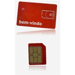 Cartao Vodafone World 12.5 Saldo 500MB de Internet - 6153
