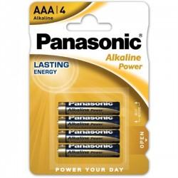 Panasonic Pilhas Alcalina AAA LR03 1.5V Pack 4 - 5410853039334