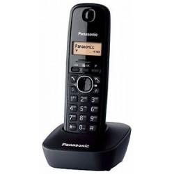 Panasonic Telefone Sem Fios KX-TG1611 Preto - 5025232621545
