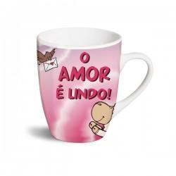 """Caneca Nici """"O AMOR É LINDO!"""" - 4012390406115"""