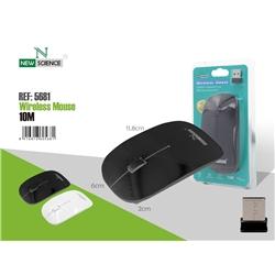 Rato Usb New S Fios Preto 5681 - 8416816605681
