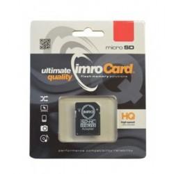 Cartao Memoria IMRO MicroSD 8GB Classe 4 C Adaptador - 5902768015461