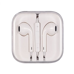 Auricular Iphone 5/6/6 Plus App MD827 Branco Original - 5900217262183