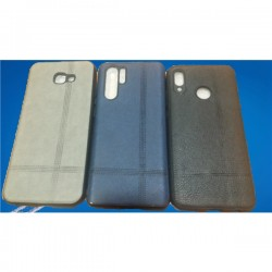 Capa Tipo Pele Samsung S10 Lite Cinza - 6631