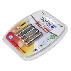 Digivolt Pilhas Ni-Mh AAA Recarregavel BT4-1100mAh Pack 4Un - 8502916510113