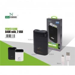 Nucleo Isqueiro Rapido New 3.4Amp Preto Car-2USB - 8416846607471