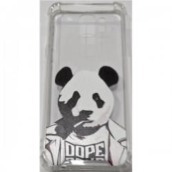 Tampa Huawei Y5 2018 C Desenho Panda Transparente - 6713