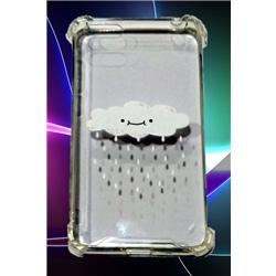 Tampa Huawei Y5 2018 C Desenho Nuvem Transparente - 6719