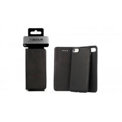 Bolsa Flip Cover Vennus 2 em 1 Samsung A6 Plus A605 Preta