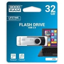 Pen Drive Usb GOODRAM 32GB 2.0 Preta - 5908267920381