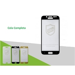 Pelicula Vidro 5D New Samsung J7 2017 J730 Preta