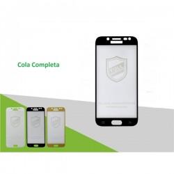 Pelicula Vidro 3D Samsung A8 Plus 2018 A730 Preta
