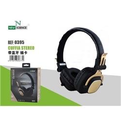 Auscultador New Stereo Dourado Micro Bluetooth Recarreg SH25 - 7061