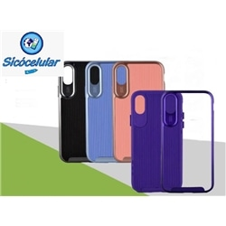 Tampa C Aro Removivel New Samsung A20 A30 Rosa 7981 - 7080