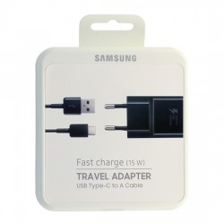 Nucleo 220V Samsung EP-TA20EBEC 2Amp + Cabo Type C Original - 8806088844343