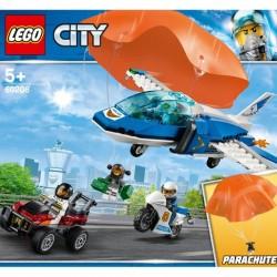 LEGO City - Polícia Aérea Detenção de Paraquedas - 60208 - 5702016369779
