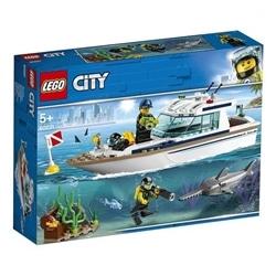 LEGO City - Iate de Mergulho - 60221 - 5702016369533