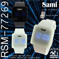 Relogio Sami Led Tactil Matrix WR30M - 77269