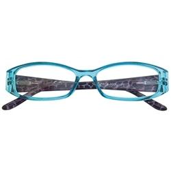 Oculos de Ler Zippo Azul Graduação + 1.00 - 8050612046332