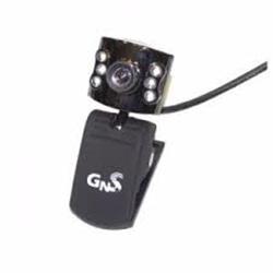 WebCam GNS PC 5MP Com Micro Preta - 8436034386551
