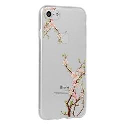 Tampa Traseira Floral Xiaomi Redmi Note 8 Pro Cereja - 7479