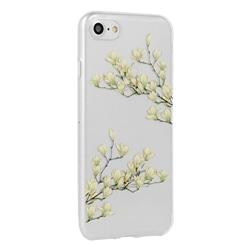 Tampa Traseira Floral Samsung A10 A105 Magnolia - 7484