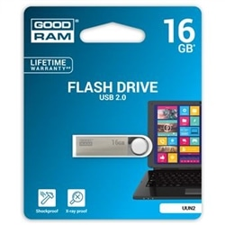 Pen Drive Usb GOODRAM 16GB 2.0 Preta - 5908267920350