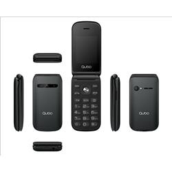 """Qubo B209 32Mb Ram + 32Mb Rom 2.4"""" Preto Dual Sim - 6944762795474"""