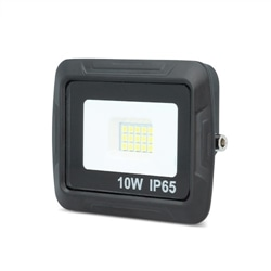 Projector LED SMD PROXIM 10W 6000K 800lm Preto IP65 - 5900495645708
