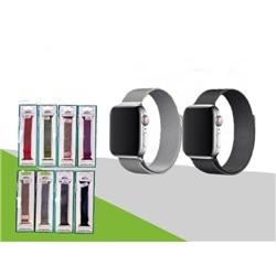 Correia Bracelete Metal New Apple Watch 42 / 44mm Preta - 8416846610679