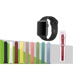 Correia Bracelete Silicone New Apple Watch 42 / 44mm Verde - 8416836323749