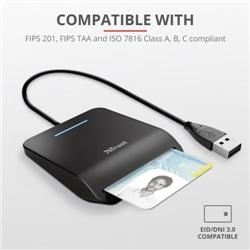 Leitor Cartao Cidadao Trust Primo DNI SmartcardReader USB 2o - 8713439238907