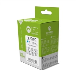 Tinteiro TFO Brotter LC1000C LC970C 14ml Azul Compativel - 5900495827494