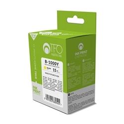 Tinteiro TFO Brother LC1000Y LC970Y 14ml Amarelo Compativel - 5900495827531