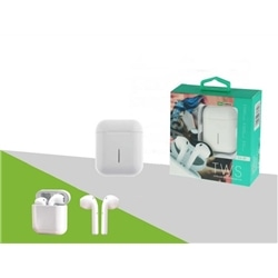 Earphones Bluetooth New TWS EA-09 Branco - 8416846613298