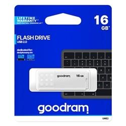 Pen Drive Usb GOODRAM 16GB 2.0 Branca - 5908267935651