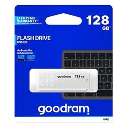 Pen Drive Usb GOODRAM 128GB USB 2.0 Branca - 5908267935712