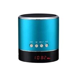 Coluna Musica A38s Bluetooth Com Visor e Radio Azul - 5900217058670