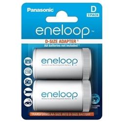 Panasonic Eneloop Adaptador de Tamanho AA Para D - 5410853052838