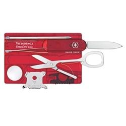 Kit de Manicure Victorinox SwissCard Lite Vermelho #2 - 7611160014870
